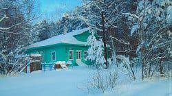 Здание Дома детства и юношества. Зима 2012 года