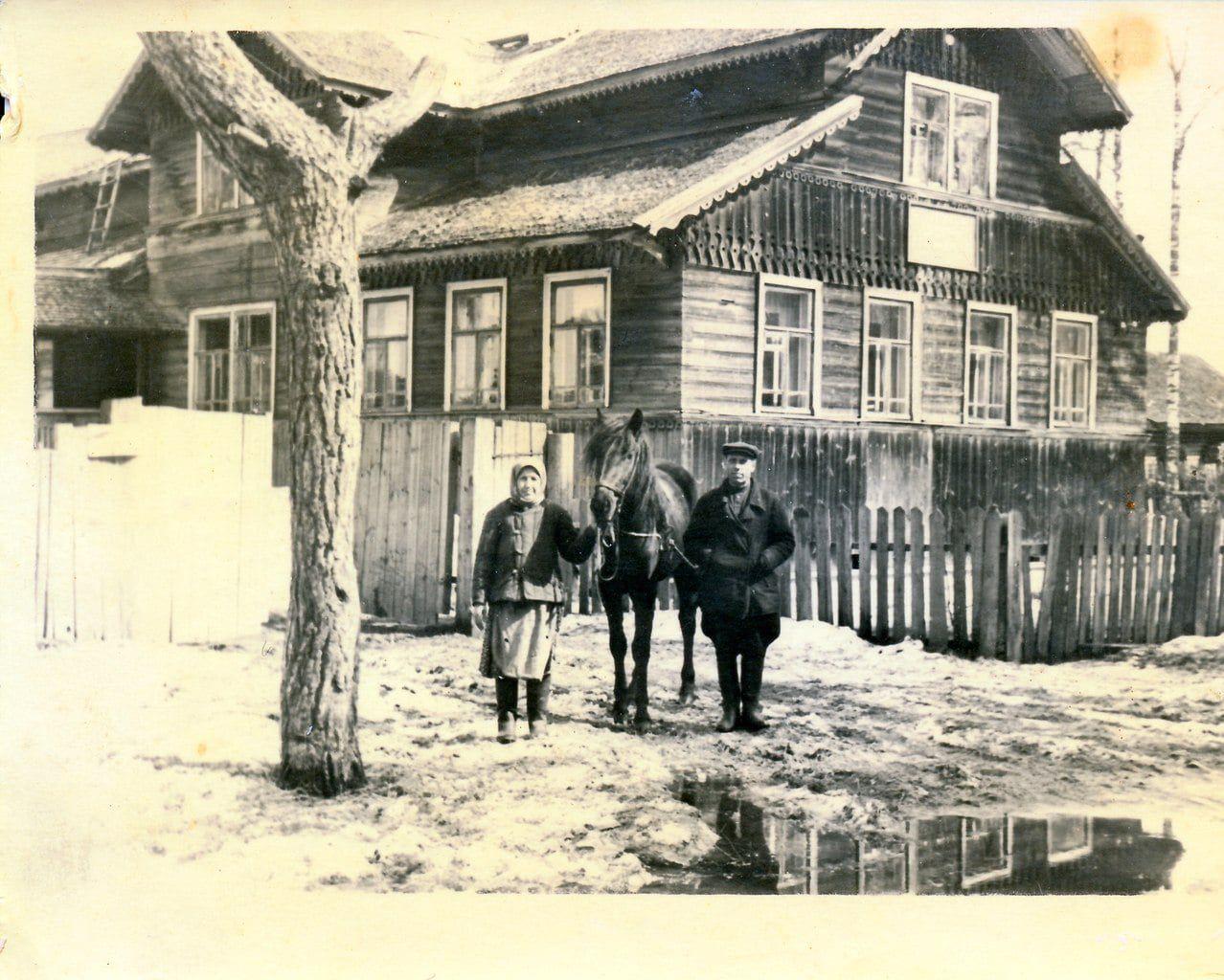 Дом на улице Пролетарская в пгт. Максатиха