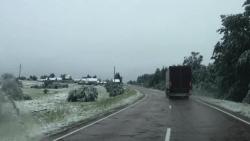 В Максатихе в июне выпал снег