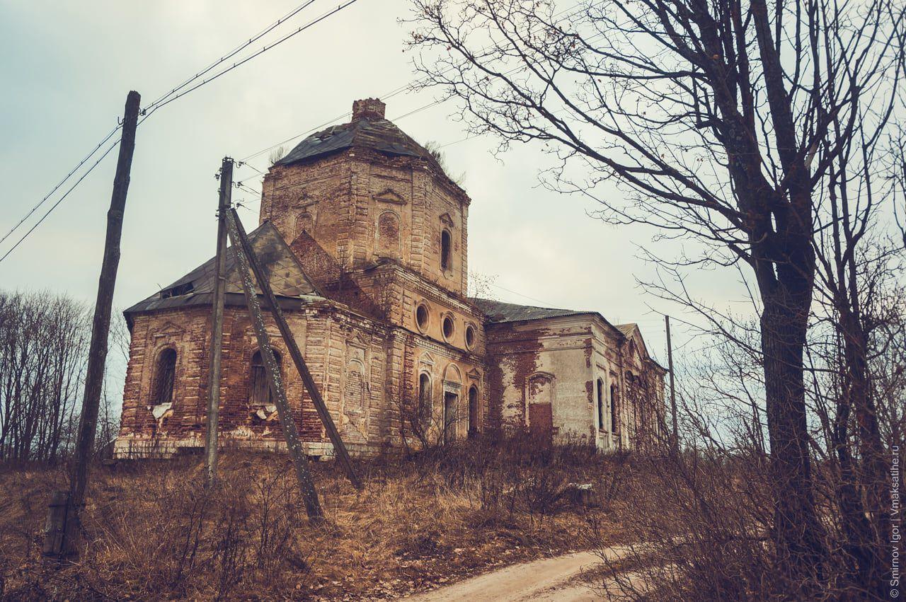Церковь Всех Скорбящих в селе Трестна Максатихинского района
