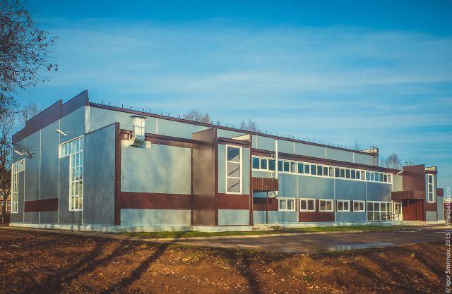 Здание физкультурно-оздоровительного комплекса посёлка Максатиха