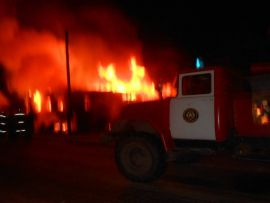 В деревне Столбиха из-за неисправности отопительной печи сгорел дачный дом