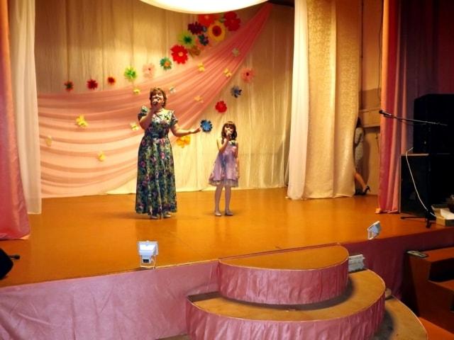 Благотворительный концерт в Зареченском ДК