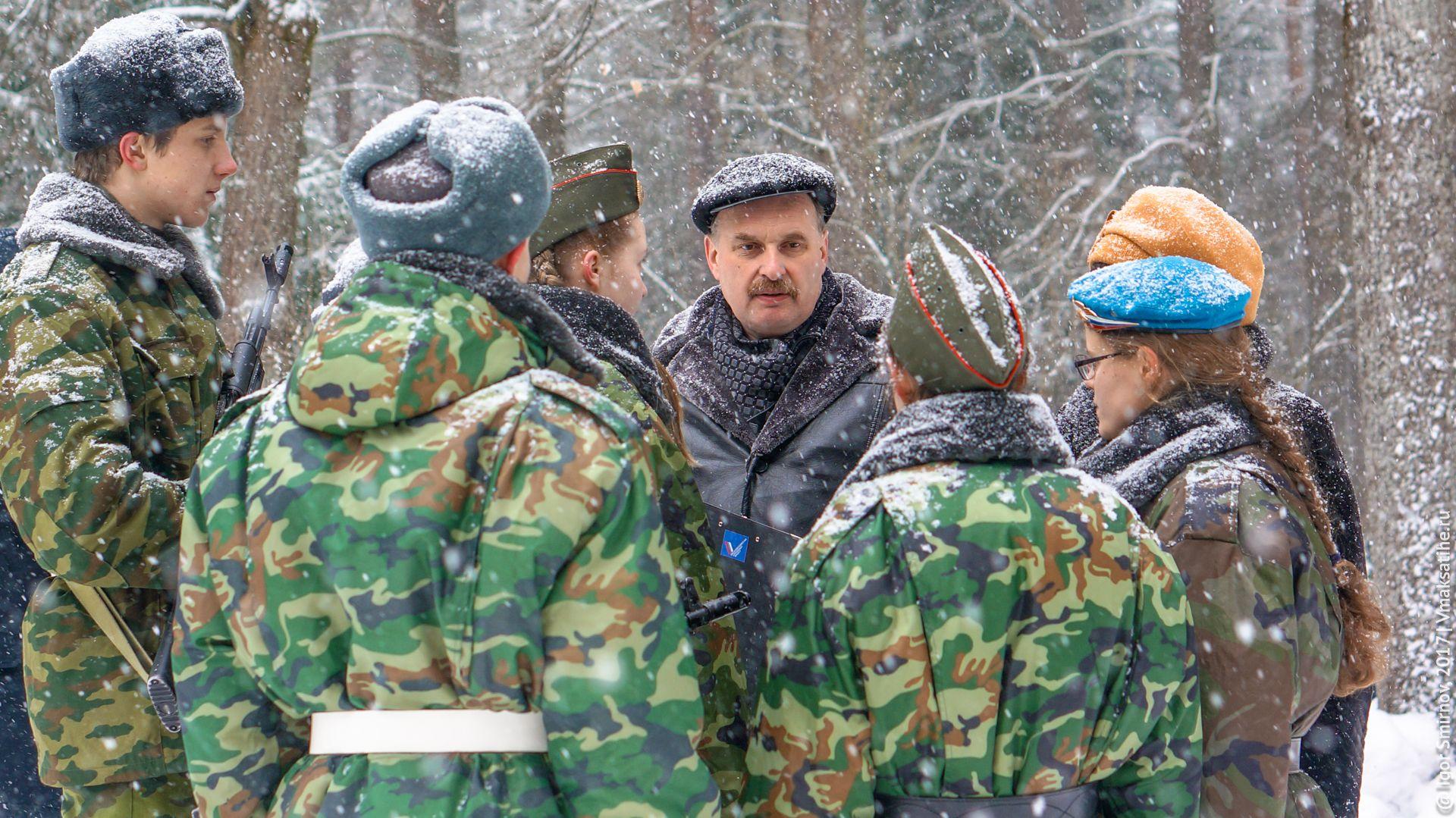 Виноградов Станислав Аркадьевич с ребятами из молодёжного актива