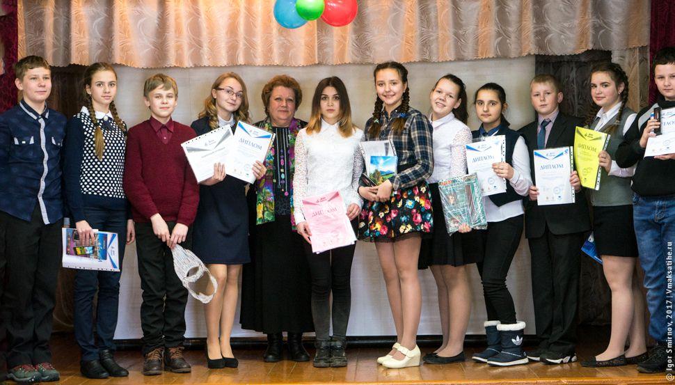 Общий снимок чтецов конкурса Живая классика