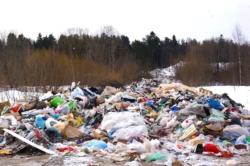 Свалка твёрдых бытовых отходов посёлка Максатиха