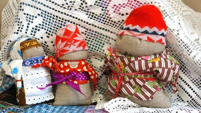 Выставка русских народных кукол в посёлке Максатиха