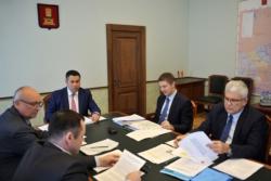 В Правительстве Тверской области обсудили схему газификации северо-восточной части региона