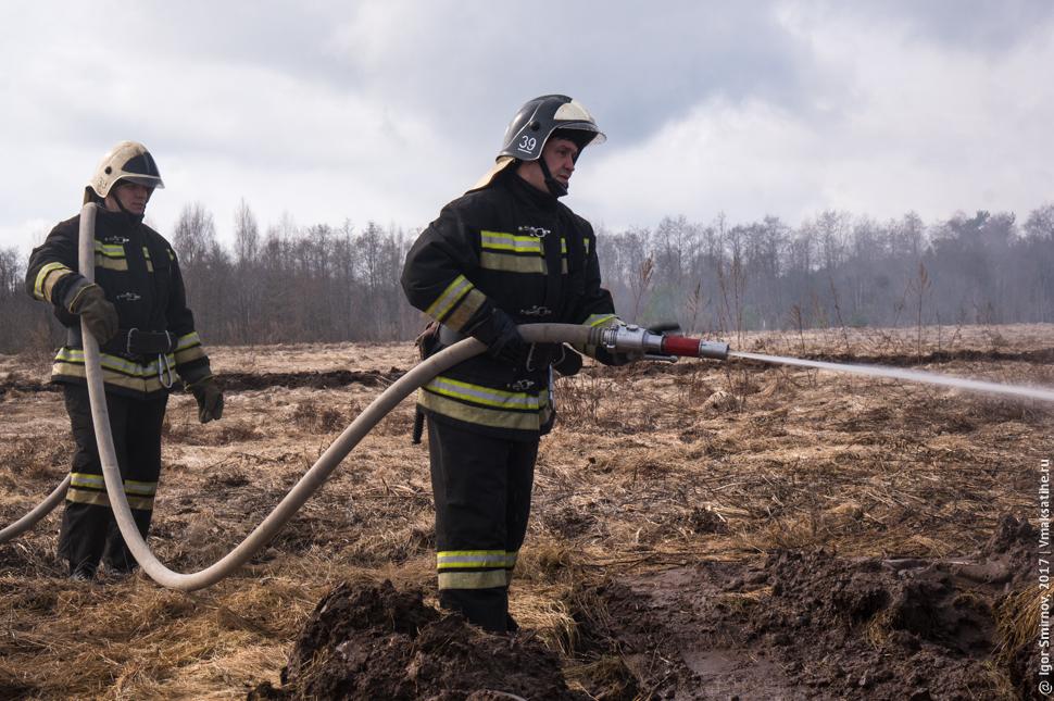 В Максатихинском районе провели пожарно-технические учения