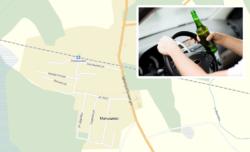 В посёлке Малышево задержали пьяного водителя