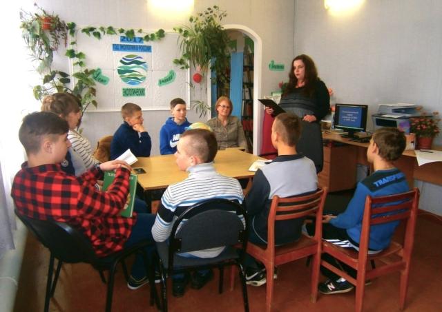 В посёлке Труженик провели мероприятие на экологическую тему