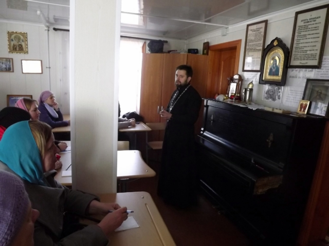 Педагоги Максатихинской Воскресной школы провели встречу с родителями учащихся