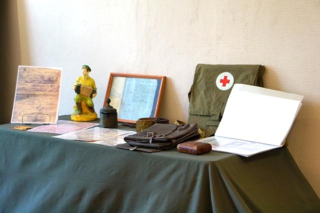 Выставка-экспозиция «Осколки прошедшей войны»