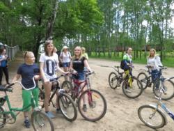 Любительская велопрогулка от парка культуры и отдыха посёлка Максатиха до села Рыбинское Заручье