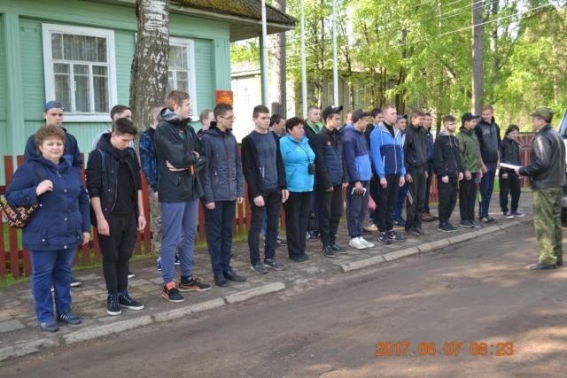 Поездка школьников в воинскую часть деревни Хохловка Рамешковского района