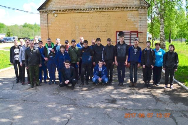 Общее фото в воинской части