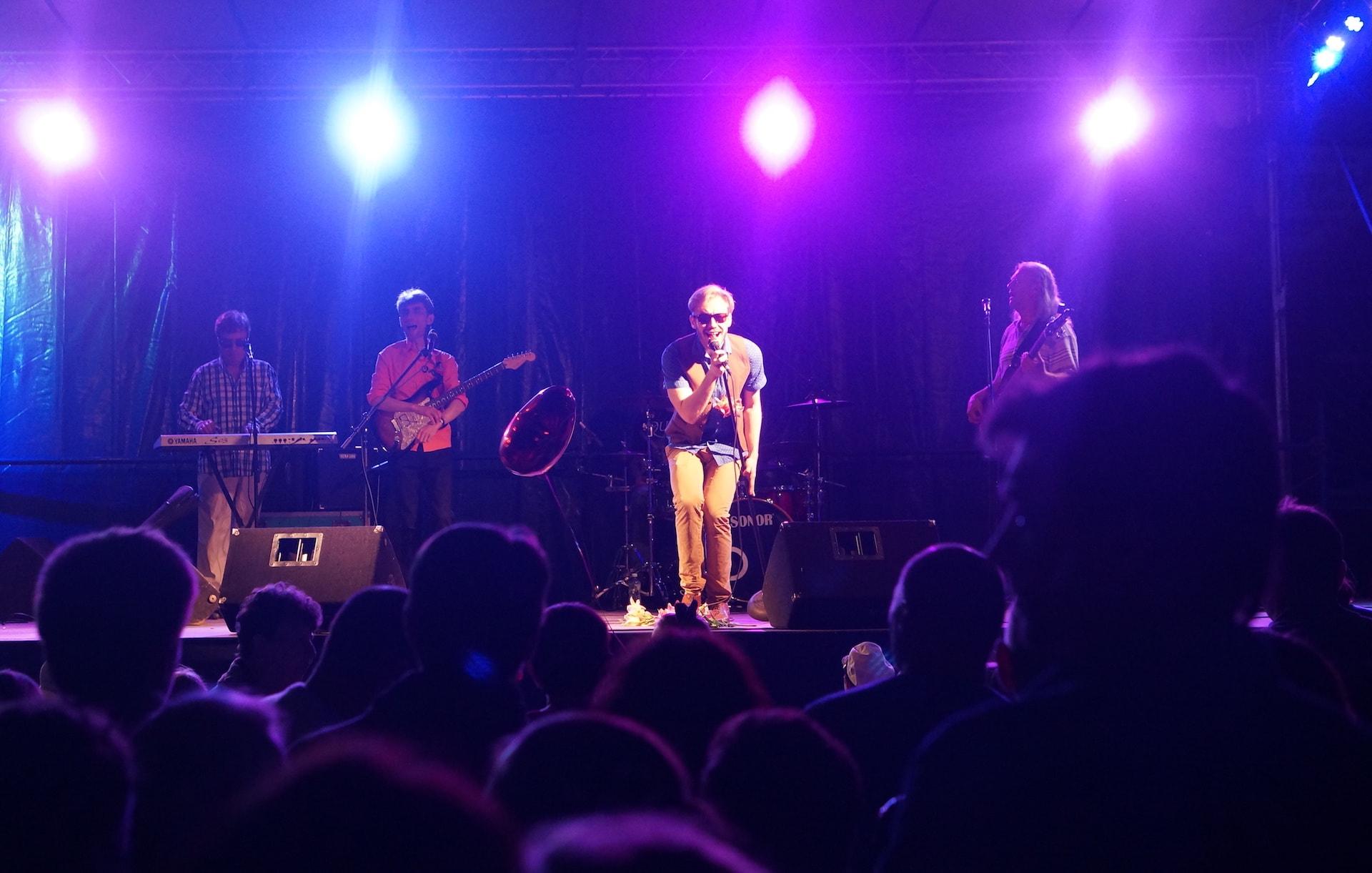 Группа NZ города Тверь выступает на Дне посёлка Максатиха и Максатихинского района