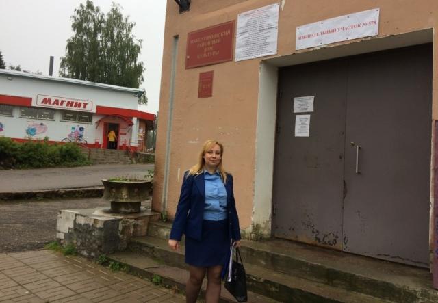 Проверка избирательных участков в посёлке Максатиха