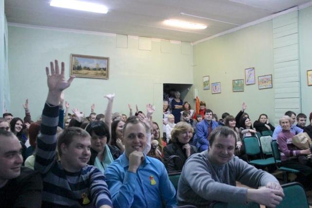 Вечер встречи выпускников в Максатихинской средней школе № 1