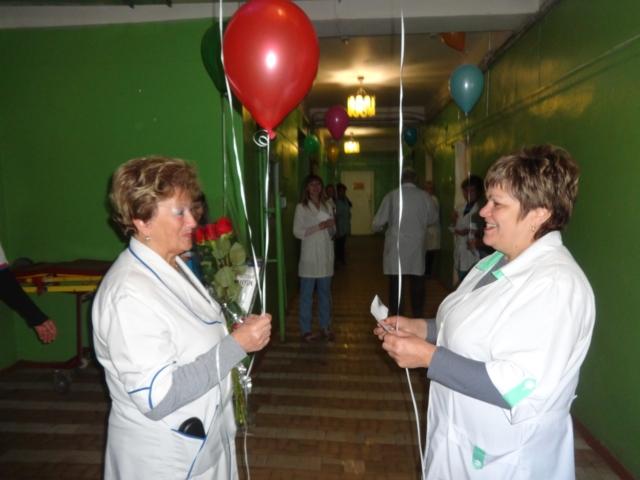 Коллектив Максатихинской ЦРБ поздравляет Наталью Анатольевну Белякову с юбилеем