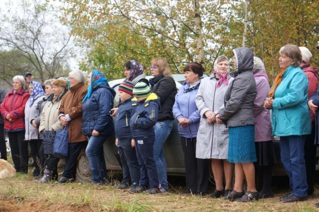 Жители деревни Ручки Рыбинского сельского поселения