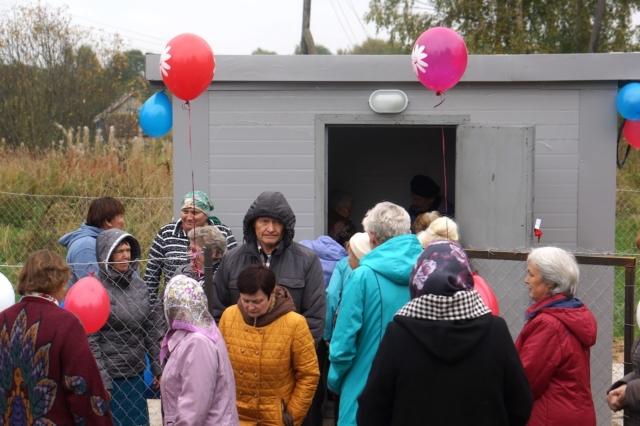 В д. Ручки Рыбинского сельского поселения улучшено качество водоснабжения благодаря ППМИ