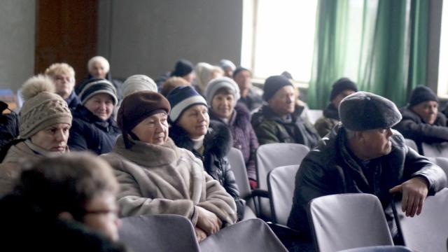 Собрание ппми в деревне Кистутово