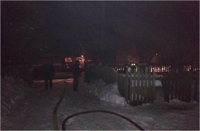 На Краснослободской улице из-за перекаленной печки загорелся жилой дом