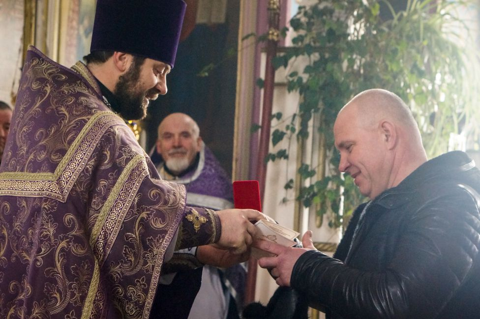 Праздник Торжества Православия в храме Всех Святых поселка Максатиха