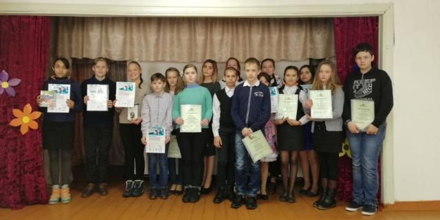 Участники муниципального этапа VII Всероссийского конкурса юных чтецов «Живая классика» 2018 года
