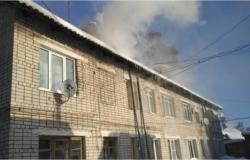 На Пионерской улице из-за короткого замыкания электропроводки загорелась квартира