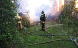 Пожар на улице Мологская