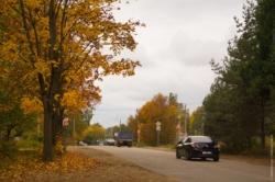 Железнодорожная улица посёлка Максатиха