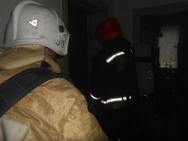 В Максатихе загорелось отделение почты