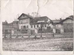 Старые дома на площади Свободы