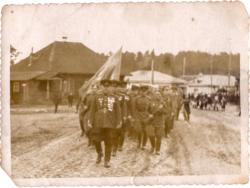 Воинская часть во время праздника п. Максатиха