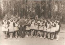 Выпускной класс 1984 года МСШ № 1