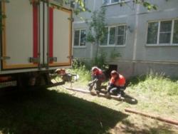 Игорь Руденя дал поручение ООО «Тверь Водоканал» провести аварийные работы на сетях многоквартирного дома в посёлке Максатиха