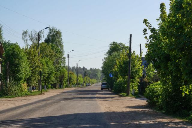 Улица имени Нового посёлка Максатиха